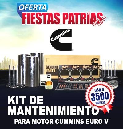 OFERTA CUMMINS - Fiestas Patrias