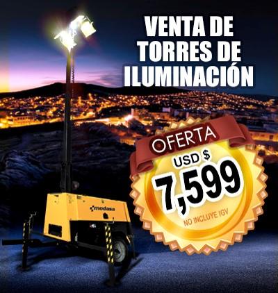 Torres de Iluminación - Oferta